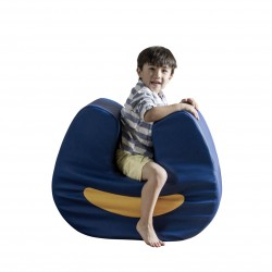 Abilitations SqUoosh Chair, Blue
