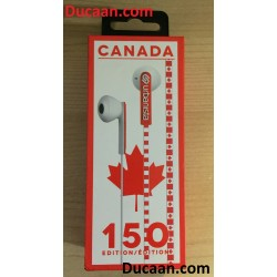 Urbanista Canada 150 Limited Edition Earbuds - Red and White