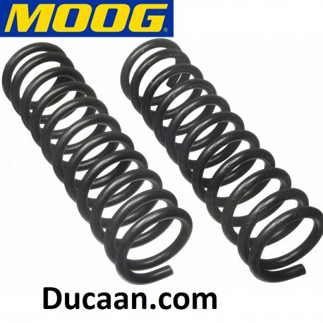MOOG 6192 Front Coil Springs – Pair fit on Chevrolet Bel Air/ Biscayne/Caprice/ Impala