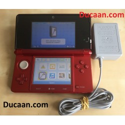Nintendo 3DS Launch Edition Red Handheld System with Game