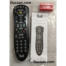 Bell Fibe MXv4 IR TV Remote Control TV Controller