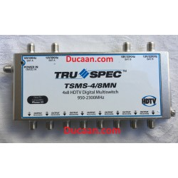 4x8 Pico Macom Multiswitch TSMS-4/8 for Shaw Direct- WITHOUT POWER SUPPLY