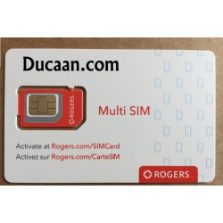 Lot of 260-Rogers multi sim card Nano Micro Regular 3G 4G Lte Triple