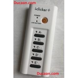 iClicker Plus + Model RLR15 Student Classroom Remote Response System