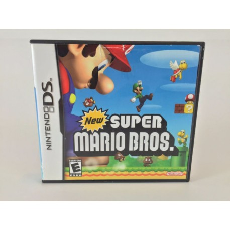New Super Mario Bros. Nintendo DS - COMPLETE w/ MANUAL