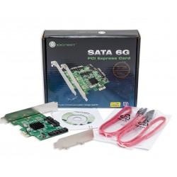 IO Crest 4 Port SATA III PCI-e 2.0 x1 Controller Card