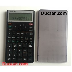 Sharp El-738F Financial Calculator Business M25