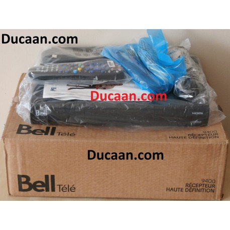 Bell 9400 HD PVR Dual Tuner Satellite Receiver