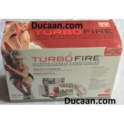 BeachBody Turbo Fire Intense Cardio Conditioning 14 Disc DVD Box Set Workout