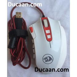 REDRAGON M901 16400DPI Wired Pro Ergonomic Gaming Mouse Mice for MMO PC Laptop