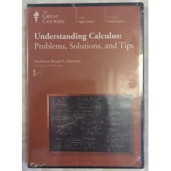 The great courses understanding calculus problems solutions and tips- DVD Only