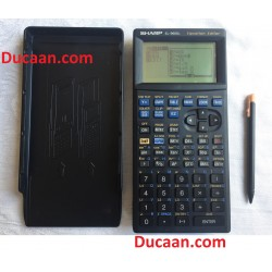Sharp EL-9600C Equation Editor Graphing Calculator with Stylus & Slide Cover