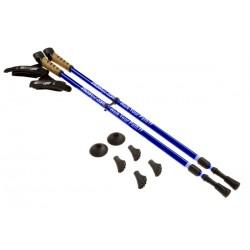 Keenfit 2-Piece Fitness Walking Poles - Blue