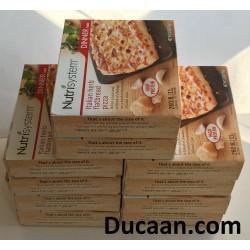 LOT OF 10 - Nutrisystem dinner italian herb flatbread pizza
