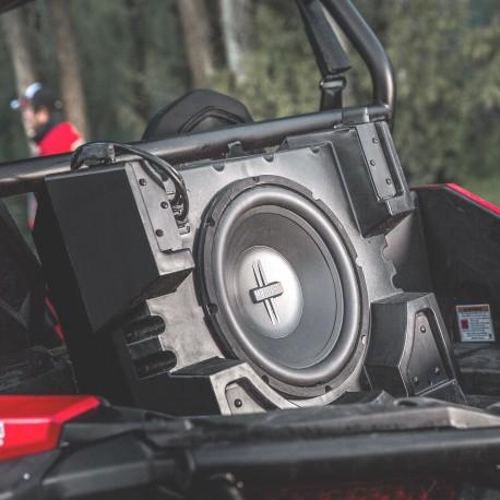 "Polaris GENUINE RZR XP 4 1000 900 MB Quart 12"" MaxBoost Subwoofer for 2014-2019 RZR XP"