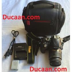 Nikon D3300 24.2 MP CMOS Digital SLR Camera + 18-55mm Zoom Lens +Bag
