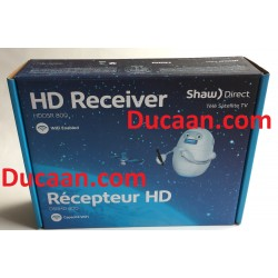 Shaw Direct HDDSR 800 (DSR800) WIFI Satellite Receiver