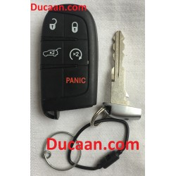 2014-2018 Jeep Keyless OEM Entry Remote Fob 3-Button Smart Proximity Key (FCC ID: M3N-40821302 / P/N: 68143502