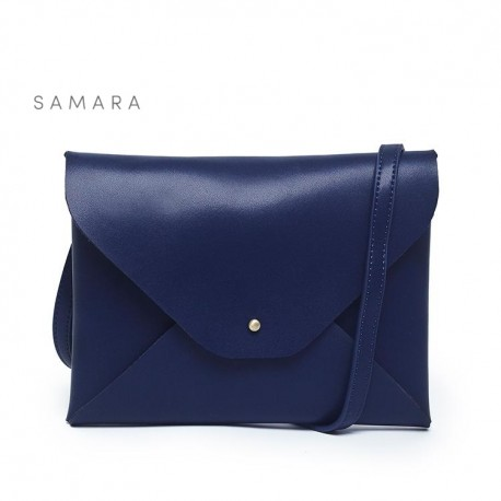 Samara Envelope - Navy handbag
