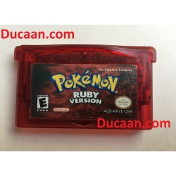 ORIGINAL AUTHENTIC Pokemon Ruby Version -Game Boy Advance