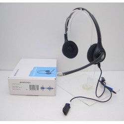 Plantronics SupraPlus HW261N Headset uses with M22 M12 MX10 & VoIP Voice Over IP