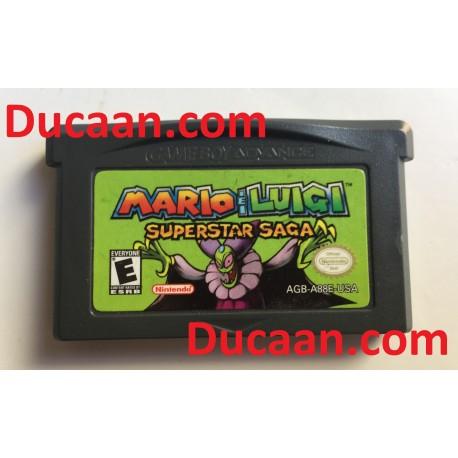 Mario & Luigi: Superstar Saga (Nintendo Game Boy Advance) GBA