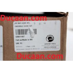 CAN AM OEM CVT AIR GUIDE KIT COMMANDER, OUTLANDER, RENEGADE 420611407