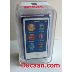 RARE NEW Apple iPod Nano 7th Generation 16gb BLUE 16GB MP3 Music Player Mkn02vc/a