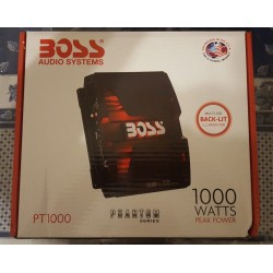 Boss Audio Phantom Full Range Class A/B 2 to 8 Ohm Stable Channel Amplifier