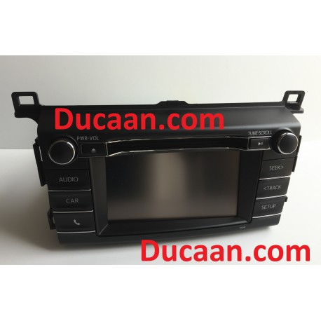 2016-2018 Toyota Rav-4 Radio Display Unit Receiver 86140-0R170 Model FT0049A Type FT0049B