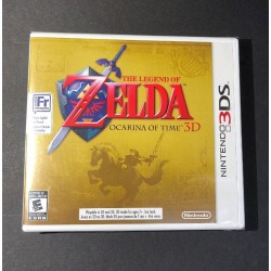 The Legend of Zelda [ Ocarina of Time 3D / First Print ] (3DS) NEW