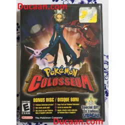 Pokemon Colosseum Bonus Disc Nintendo Gamecube (Game and Case) – Rare