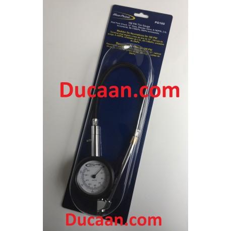 Blue Point Full Range Tire Gauge 0-160psi PG 160