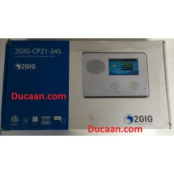 2gig 2GIG-CP21-345E Color Touch Screen Panel Security and Home Automation Control Panel