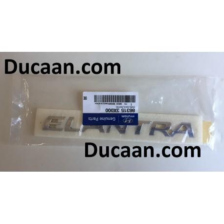 HYUNDAI OEM 11-16 Elantra Trunk Lid-Emblem Badge Nameplate 863153X000