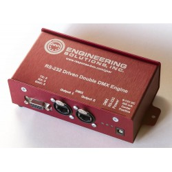 Engineering Solutions Response Box RS-232 Driven Double DMX Engine