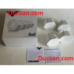 SET OF 4 - Bell Whole Home Wi-Fi pod WIFI extender for Home hub 3000 Modem
