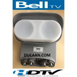 Bell Expressvu HD High definition Dish Pro Plus DPP Quad LNB