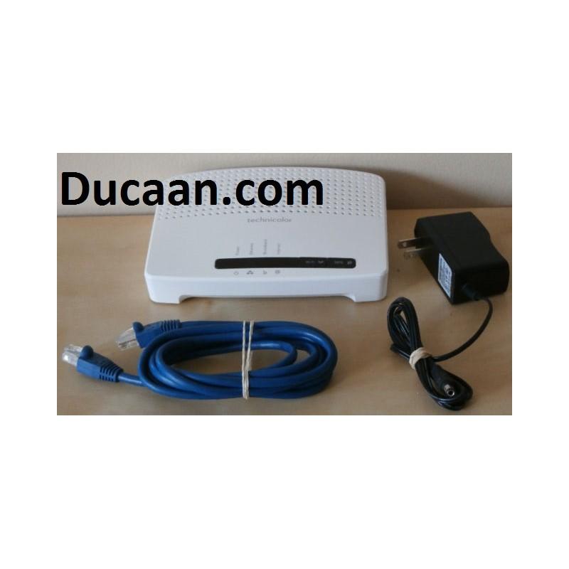 Technicolor TG582n WIFI ADSL2+ Modem / Router - Ducaan com