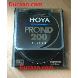 Hoya PROND 58mm ND200 -2.4- 7.67 Stop ACCU-ND Neutral Density Filter XPD-58ND200