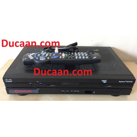 Rogers Cisco Nextbox HD High-Definition Explorer 4642 Cable Box