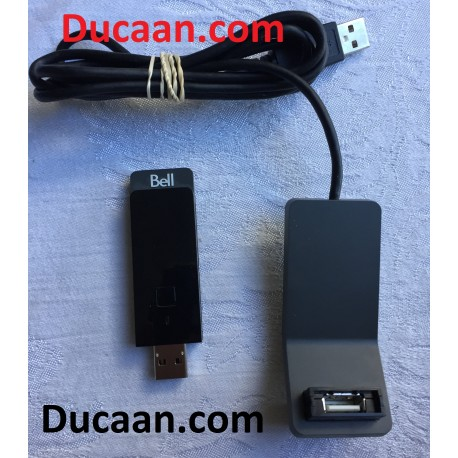 Bell Satellite TV WI-Fi Adapter for CRAVE TV or On Demand for Bell 9400/ 9241 Satellite Receiver