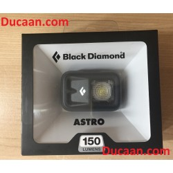 BLACK DIAMOND ASTRO BLACK Headlamp with 150 LUMEN -SEALED