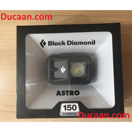 BLACK DIAMOND ASTRO BLACK Headlamp with 150 LUMEN -SEALED