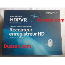NEW Shaw Direct HD High-Definition HDPVR 630 PVR Satellite Receiver